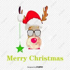 MERRY-CHRISTMAS-DEER-GLASSES