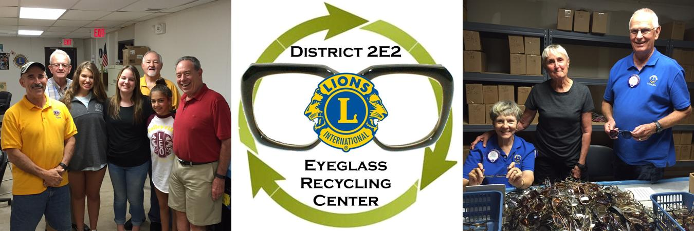 District 2-E2 Eyeglass Recyling Center