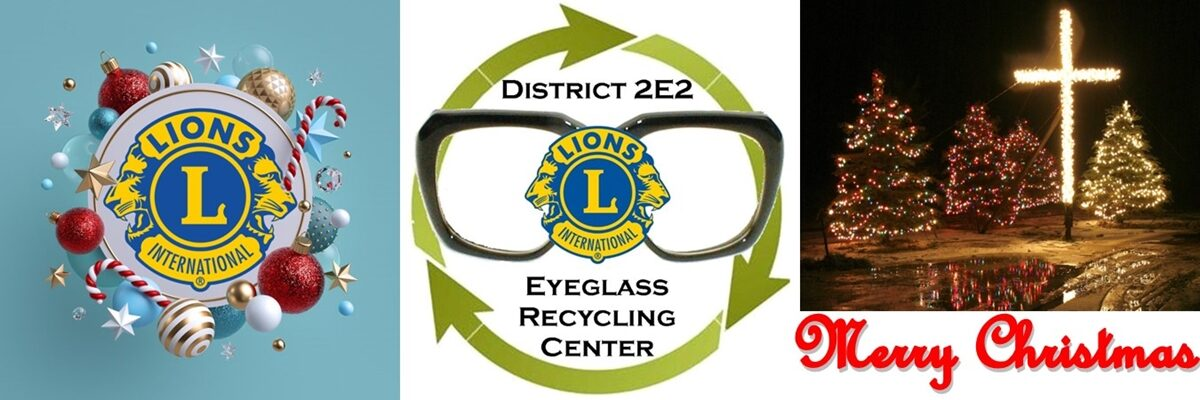 District 2E2 Eyeglass Recycling Center